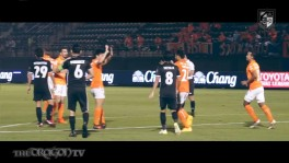 RATCHABURI MITRPHOL FC vs ROYAL THAI NAVY FC 2-1 [HD] 08-11-60 8 พ.ย. 2560