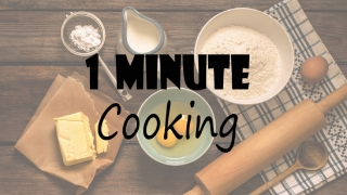 one minute cooking