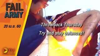 Throwback Thursday: Try and stay balanced! (April 2017)