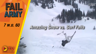 Amazing Snow vs. Surf Fails: FailArmy Presents