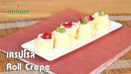 เครปโรล Roll Crepe | 1 Minute Cooking