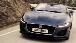 New Jaguar F Type Convertible Bluefire Trailer