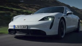 The new Porsche Taycan Turbo S Driving Video
