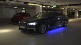 BMW Automated Parking getting into parking space 10 ส.ค. 2561