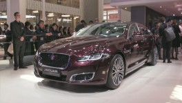 Jaguar XJ50 at the 2018 Beijing Motor Show 25 ก.ย. 2561
