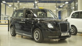 The new electric London Taxi TX eCity Design
