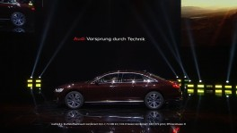 The new Audi A8 L premiere on the eve of Auto China 2018 en 27 ก.ย. 2561