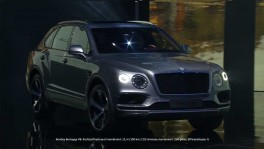 The new Bentley Bentayga V8 premiere on the eve of Auto China 2018