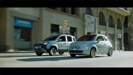 Fiat 500 Cabrio and Panda Hybrid Edition Trailer