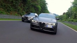 Alfa Romeo Giulia and Stelvio NRING Showcases of Alfa Romeo Excellence 26 พ.ย. 2561