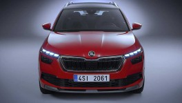 The new Skoda Kamiq Teaser