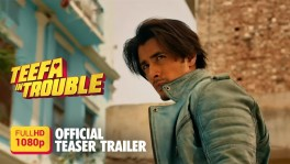 "TEEFA  IN  TROUBLE  is  a  fun  filled  roller  coaster  ride  featuring  Ali  Zafar  as  Teefa  -  ace  enforcer,  collector,  and  lovable  rogue,  trouble  is  his  middle  name!    He  heads  from  the  by-lanes  of  Lahore  on  orders  from  Butt  Sahab,  a  Lahori  gangster,  to  the  super  highways  of  Warsaw  to  bring  Anya  -  daughter  of  the  Polish  gangster  ""Bonzo"",  to  wed  Butt's  beloved  son  ""Billu  Butt"".  With  Bonzo's  bullies  and  the  police  on  one  side,  and  Butt's  goons  on  the  other,    Teefa  is  in  serious  Trouble  this  time!"