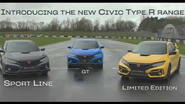 2020 The new Honda Civic Type R Range