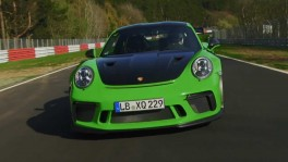 Porsche 911 GT3 RS sets new lap time on Nuerburgring Nordschleife Trailer