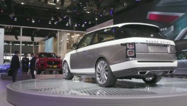 Range Rover SV Coupe at the 2018 Beijing Motor Show 26 ก.ย. 2561