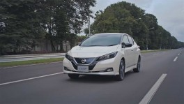 Nissan LEAF e Driving in Japan