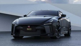 The first Nissan GT R50 by Italdesign