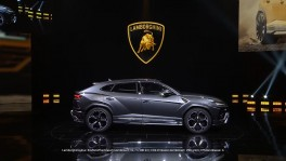 The new Lamborghini Urus premiere on the eve of Auto China 2018 en 1 ต.ค. 2561