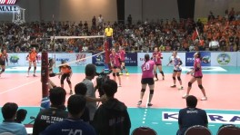 BGTV : POINT TO POINT:TVL 2018 NAKHONRATCHASIMA VC VS BGVC (HIGHLIGHT) 18 พ.ย. 2560