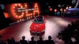 Mercedes Benz Cars at the CES in Las Vegas Speech Britta Seeger วันที่ 30 มีนาคม 2562