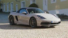 The new Porsche 718 Boxster GTS 4 0