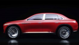 World premiere of Vision Mercedes Maybach Ultimate Luxury Exclusive motoring at the highest level