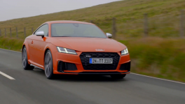 The new Audi TTS Driving Video in Pulse orange