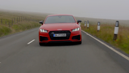 Audi TTS Coupe Driving Video in Tango red วันที่ 9 เมษายน 2562