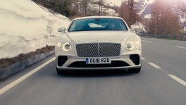 The new Bentley Continental GT in White Sand 29 พ.ย. 2561