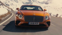 The new Bentley Continental GT in Orange Flame 28 พ.ย. 2561