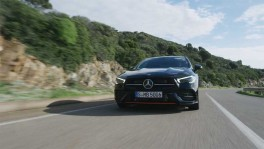 The new Mercedes Benz CLA Driving Video วันที่ 1 เมษายน 2562