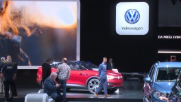 VW Stand at the 2017 Los Angeles Auto Show