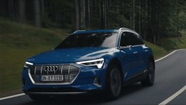 Audi e tron the next step in electric mobility วันที่ 28 มีนาคม 2562