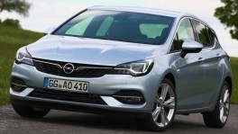 The new Opel Astra Design Preview วันที่ 5 พฤศจิกายน 2562