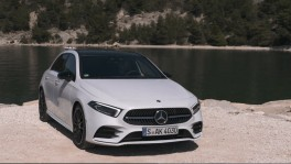 The new Mercedes Benz A 200 Driving Video 29 ธ.ค. 2561