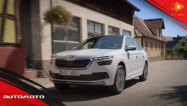 The new Skoda Kamiq Trailer