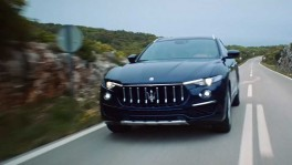 A one off Maserati Levante for Ray Allen Style Center and New York