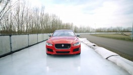 Jaguar XE 300 Sport Ice Track Trailer 11 ก.ย. 2561