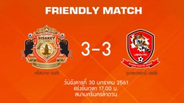 Hilight Friendly Match 30-1-18 SisaketFC 3-3 Ubon FC 21 มี.ค. 2561