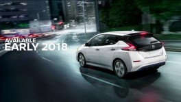 2018 Nissan LEAF Job One ceremony en 7 มิ.ย. 2561