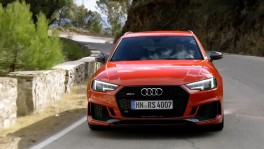 Audi RS 4 Misano Red Driving Video 23 ก.ค. 2561