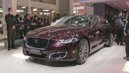 Jaguar XJ50 at the 2018 Beijing Motor Show
