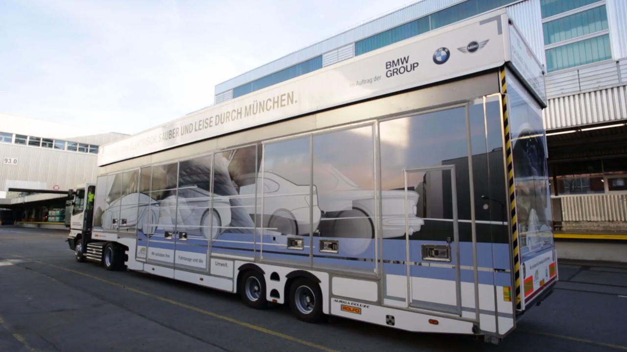 BMW Electric Truck outbound logistics 2017