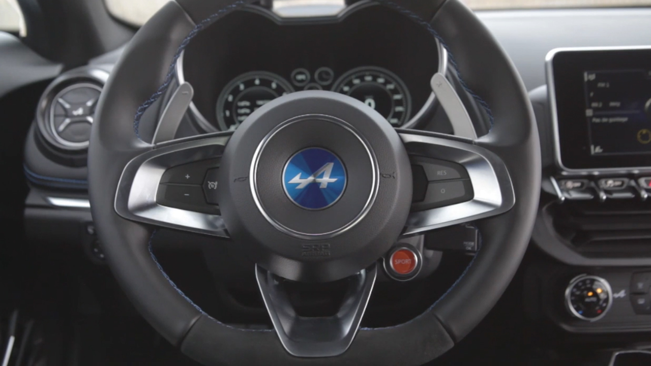 Alpine A110 Interior Design