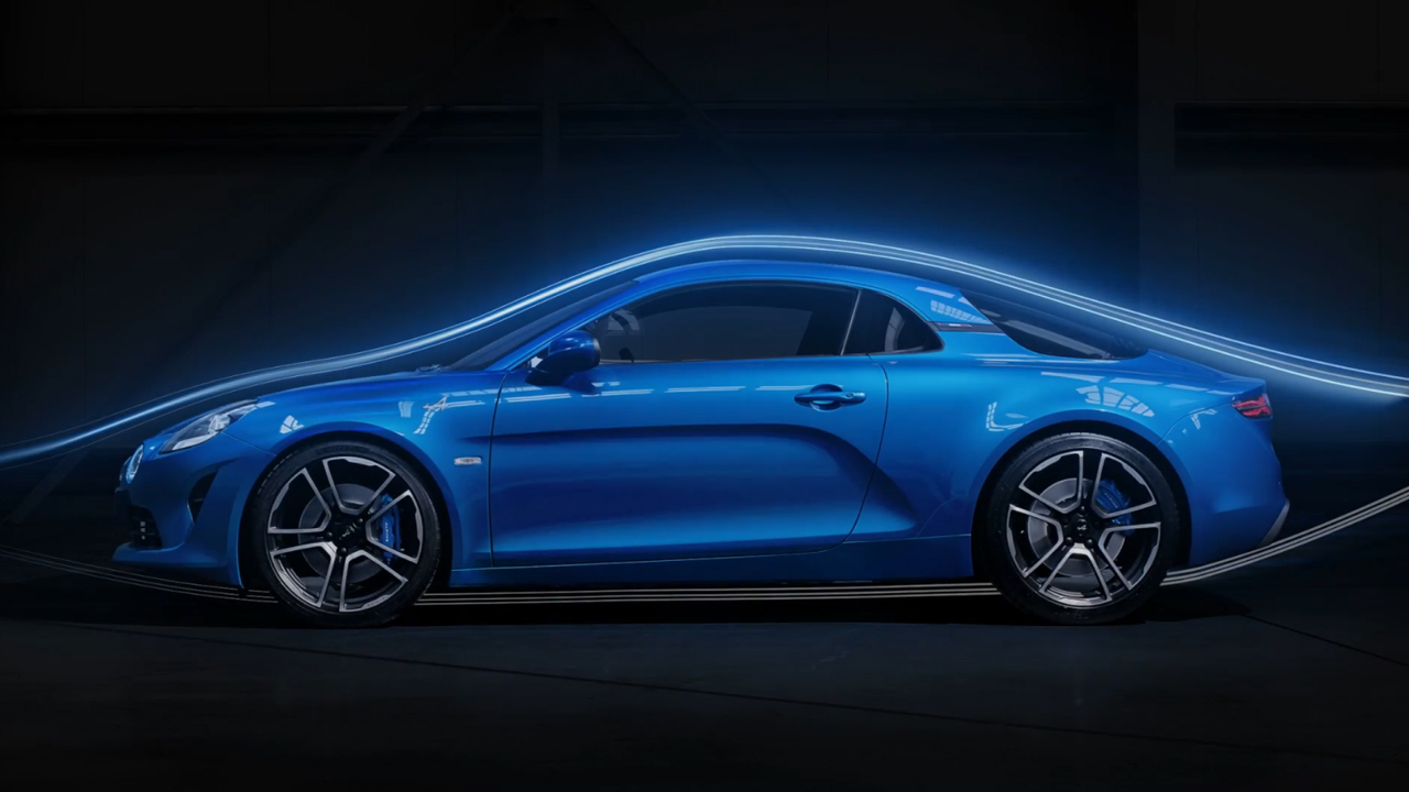 Alpine A110 Premiere Edition Animation