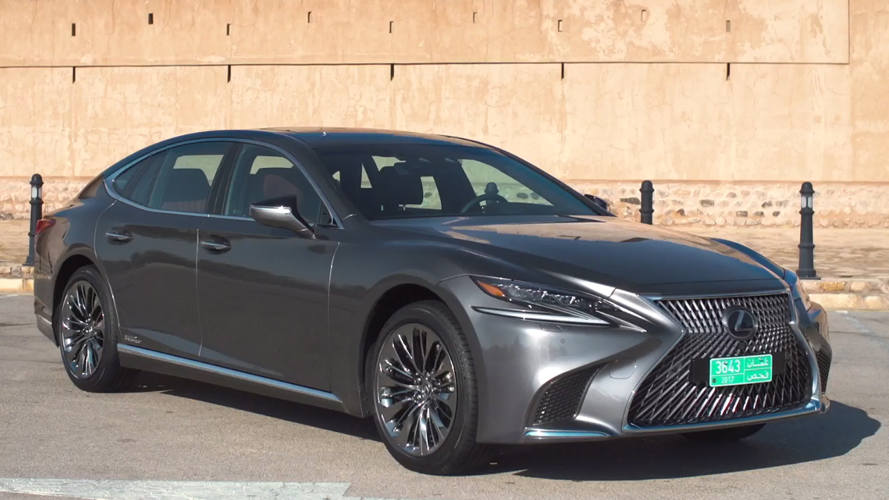 LEXUS LS 500h in Grey Exterior Design