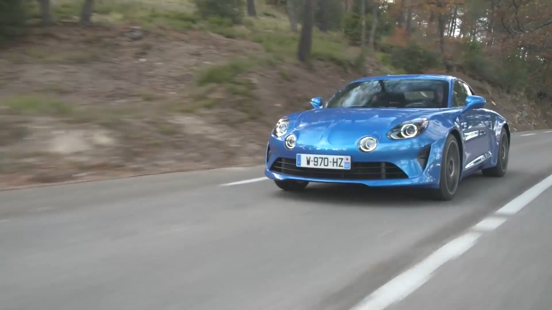 2017 Alpine A110 Driving Video