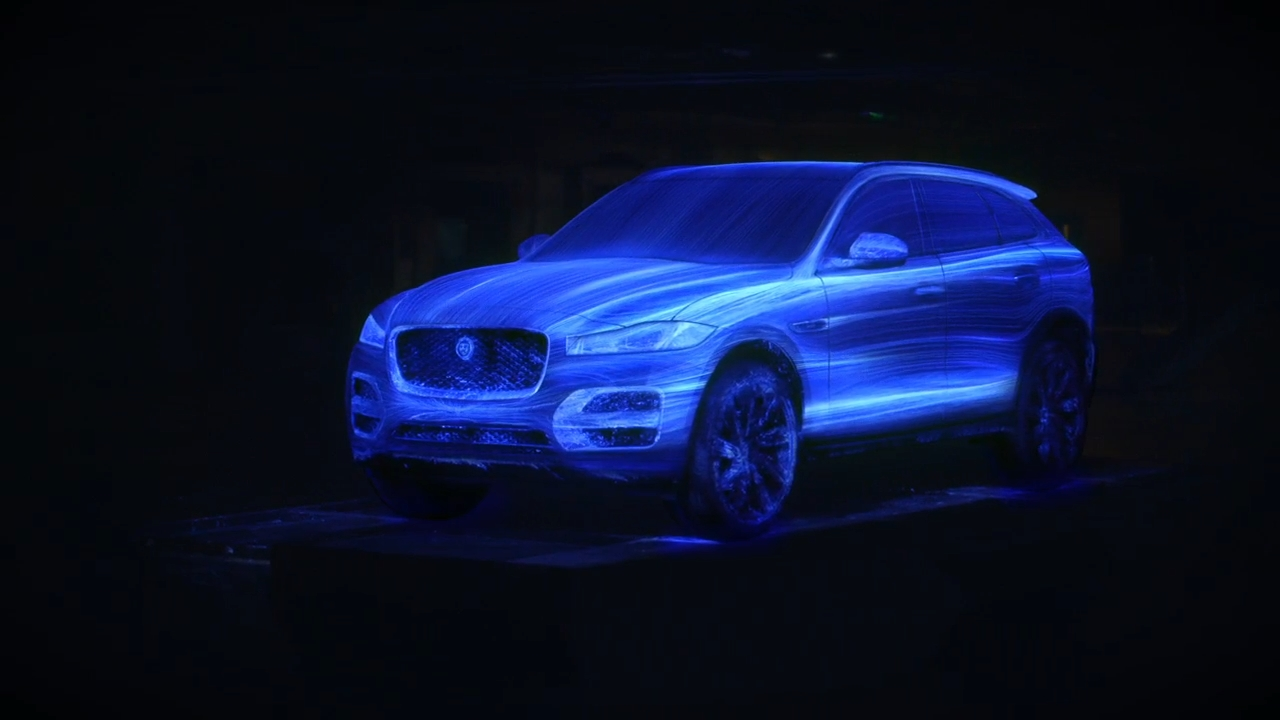 Award winning Jaguar F Pace painted in a new light