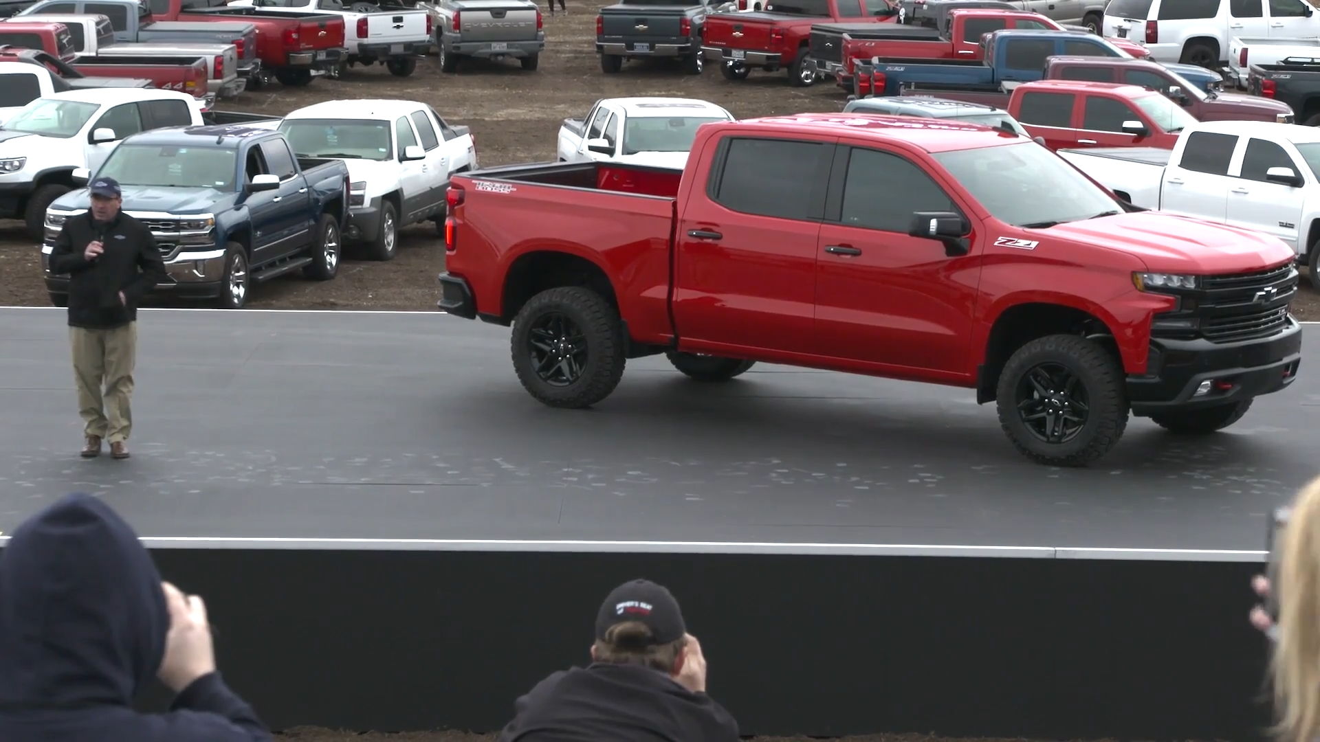 Next  gen Chevry Silverado revealed at Chevy Truck Centennial event en