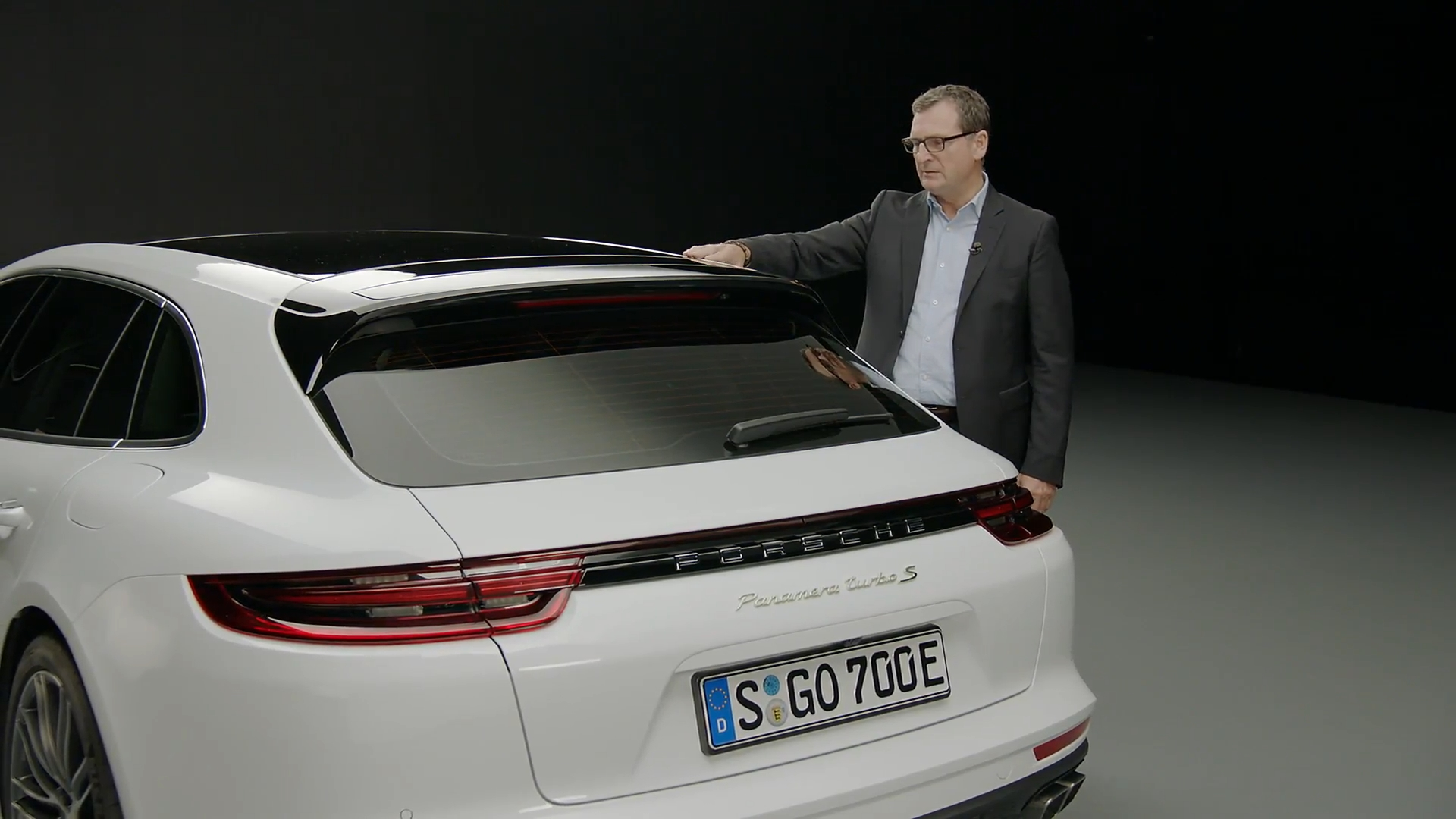 Porsche Panamera Turbo S E Hybrid Sport Turismo Digital Press Conference en